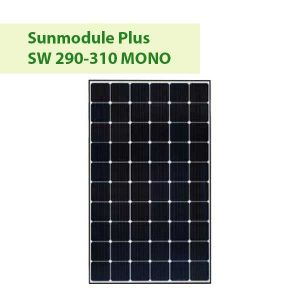 Sunmodule Plus SW 290-310 MONO at GreenLight Solar & Roofing in Vancouver WA
