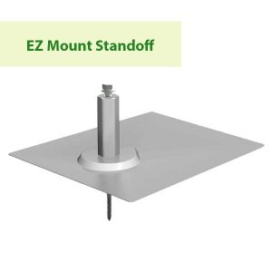 Sunmodo EZ Mount Standoff at GreenLight Solar & Roofing in Vancouver WA