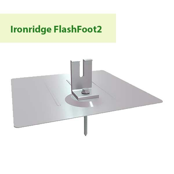 Ironridge FlashFoot2 at GreenLight Solar & Roofing in Vancouver WA