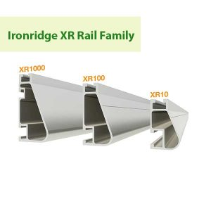 Ironridge XR Rail Family at GreenLight Solar & Roofing in Vancouver WA