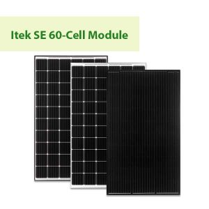 Itek SE 60 Cell Module at GreenLight Solar & Roofing in Vancouver WA