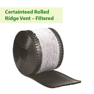 Certainteed rolled ridge vent - filtered in Vancouver WA