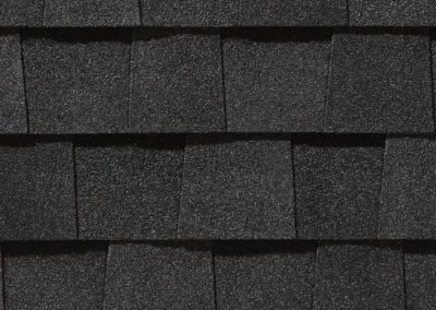 Moire Black Shingle